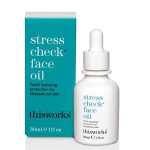 This Works Stress Check Face Oil NIB